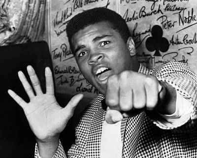 England Photograph - Cassius Clay Arrived In London For A by Keystone-france