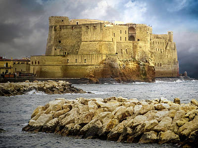 Photograph - Castel Dell'ovo, Bay Of Naples by Jacqui Boonstra