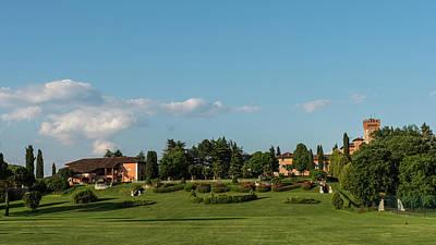 Animal Paintings David Stribbling - Castello di Spessa Golf Club by Nicola Simeoni