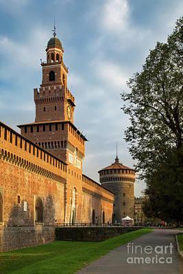 Photograph - Castello Sforzesco - Milano by Brian Jannsen