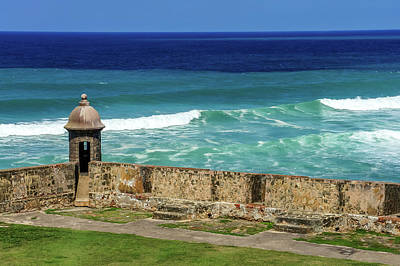 Photograph - Castillo San Cristobal,old San Juan, Puerto Rico by Dawn Richards