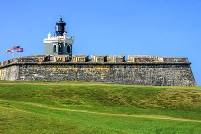 Photograph - Castillo San Felipe Del Morro, Old San Juan, Puerto Rico by Dawn Richards