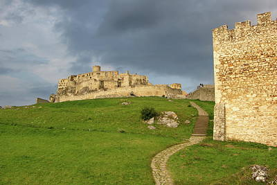 Fantasy Royalty-Free and Rights-Managed Images - Castle before rain by Ren Kuljovska