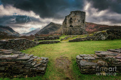 Photograph - Castle  Dolbadarn Snowdonia by Adrian Evans