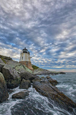 Photograph - Castle Hill Lighthouse by Juergen Roth