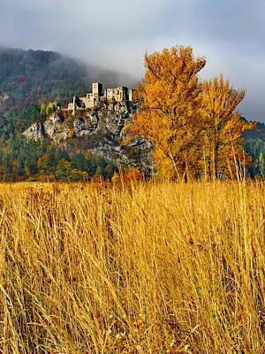 Studio Grafika Zodiac Rights Managed Images - Castle in autumn Royalty-Free Image by Ren Kuljovska