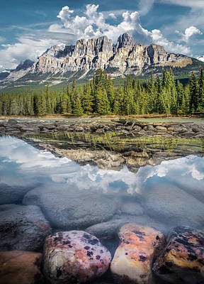 Photograph - Castle Mountain / Alberta, Canada  by Nicholas Parker