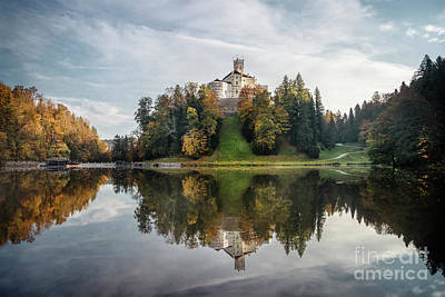 Royalty-Free and Rights-Managed Images - Castle On The Hill by Evelina Kremsdorf