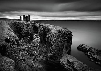 Photograph - Castle Sinclair Girnigoe by Dave Bowman