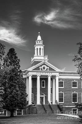 Photograph - Castleton University Woodruff Hall by University Icons