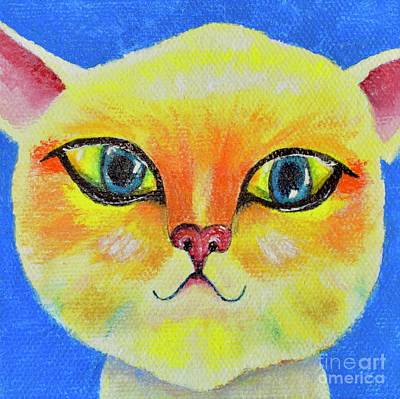 Painting - Cat by Mary Scott