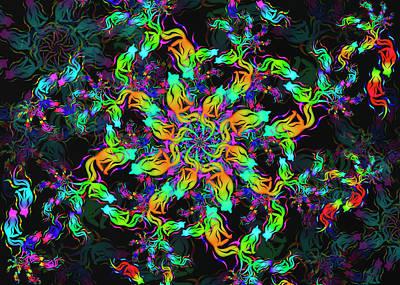 Digital Art - Cat Remix One by Vitaly Mishurovsky