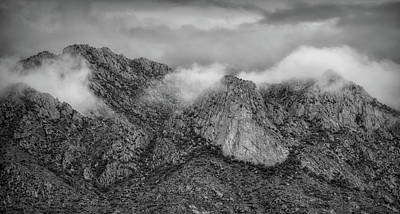 Photograph - Catalina Mountains  by Elaine Malott