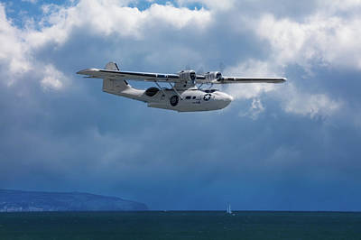 Pop Art - Catalina Off Eastbourne by Chris Lord