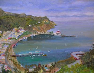 Painting - Catalina by Roger Snell