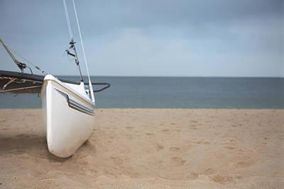 Recreational Boat Photograph - Catamaran Closeup by Visual7