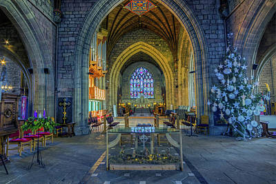 Photograph - Cathedral At Christmas by Ian Mitchell