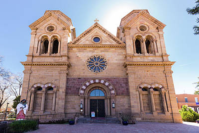 Photograph - Cathedral Basilica Of St. Francis Of Assisi by Tim Stanley