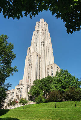 Pasta Al Dente - Cathedral of Learning building at the University of Pittsburgh by Steven Heap