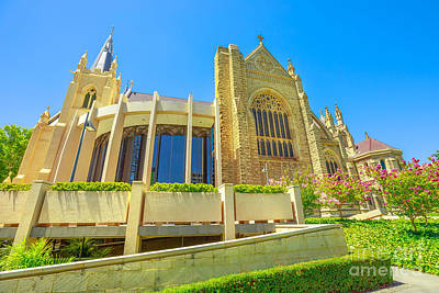 Photograph - Cathedral Perth Western Australia by Benny Marty