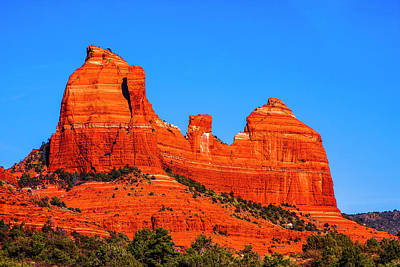 Cathedral Rock Art Print by Fernando Margolles