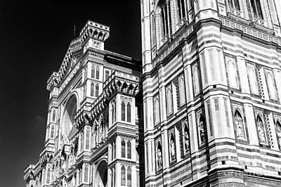 Photograph - Cattedrale Di Santa Maria Del Fiore Lines by John Rizzuto
