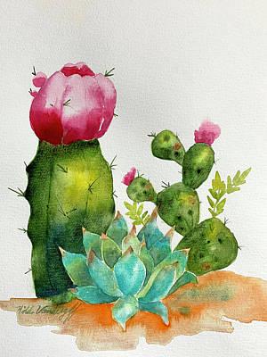 Painting - Cactus  by Hilda Vandergriff