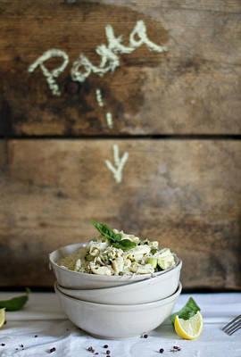 Zucchini Photograph - Cavatelli With Courgettes And Almond by Török-bognár Renáta