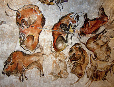 Photograph - Cave Painting 10 by Andrew Fare