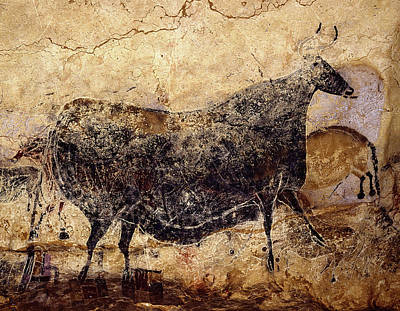 Photograph - Cave Painting 9 by Andrew Fare