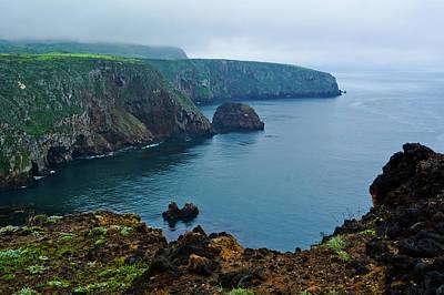Photograph - Cavern Point Santa Cruz Island by Kyle Hanson