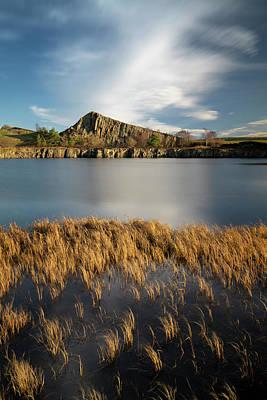 Photograph - Cawfields Gold by David Taylor