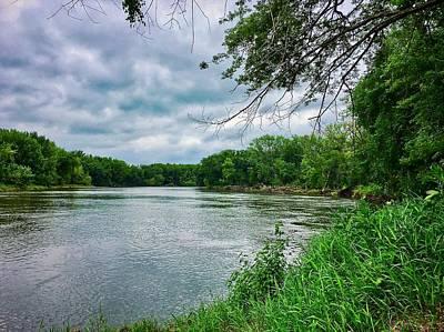 Photograph - Cedar Bend Iowa by Dan Miller