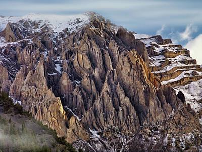 Photograph - Cedar Creek Canyon by Leland D Howard