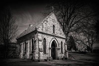 Cedar Wall Art - Photograph - Cedar Hill Chapel by Tom Mc Nemar
