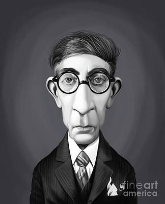 Digital Art - Celebrity Sunday - Constantine P. Cavafy by Rob Snow