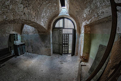 Photograph - Cell Block View by Tom Singleton