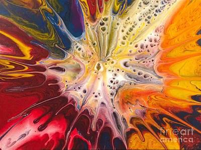 Painting - Cellular Sforzando by Lon Chaffin