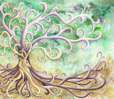 Painting - Celtic Culture by Lori Taylor