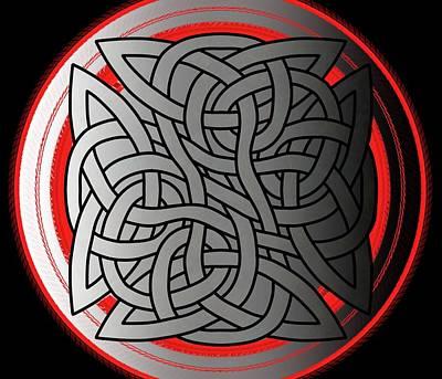 Celtic Shield Knot 4 Art Print