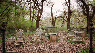 Photograph - Cemetery Gates by Susan Rissi Tregoning