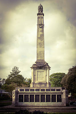 Photograph - Cenotaph by JLowPhotos