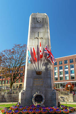 Photograph - Cenotaph by Ross G Strachan
