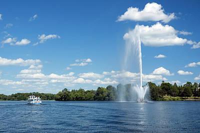 Photograph - Centennial Fountain by Kenneth-cheung