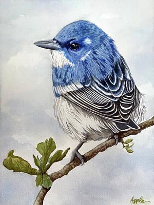 Cerulean Warbler - Original Watercolor Original
