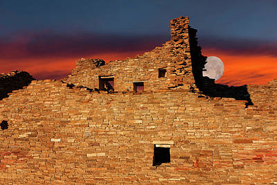 Photograph - Chaco Sundown  by Kathleen Bishop