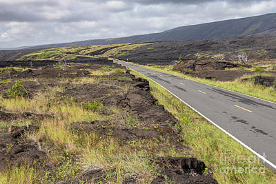 Photograph - Chain Of Craters Road by Jim West