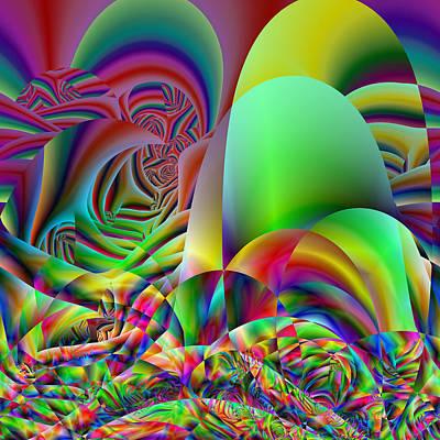 Digital Art - Chaitingly by Andrew Kotlinski