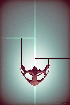 Photograph - Chalice - Abstract Geometric Bone Art by Joseph Westrupp
