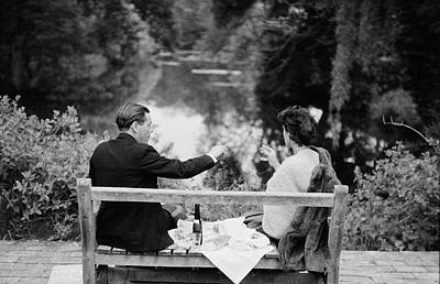 Photograph - Champagne Picnic by Erich Auerbach
